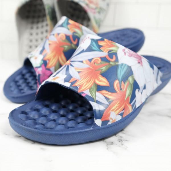 EVA 트임 전사 욕실화- 꽃